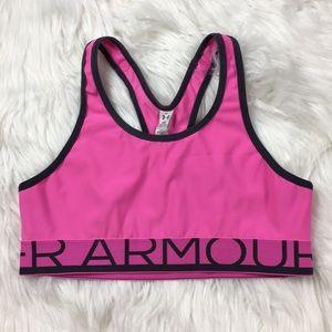 Under Armour Pink XL Sports Bra